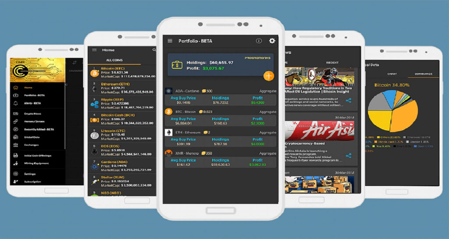 CoinMarketApp – The Best Smartphone App for Staying Up to Date with Crypto World