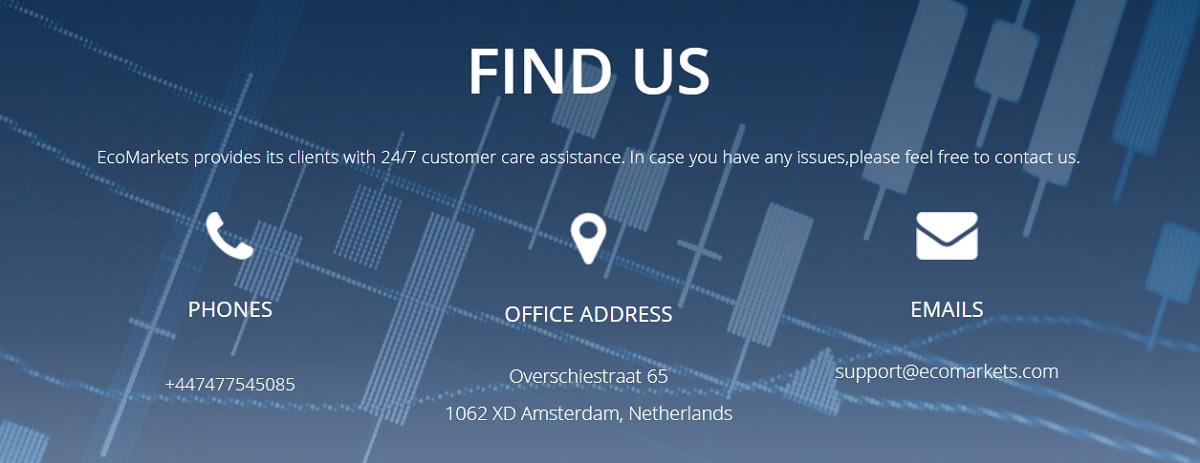 EcoMarkets customer service