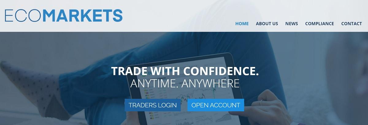 EcoMarkets home page