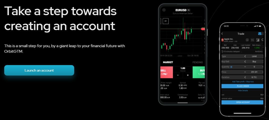 OrbitGTM crypto trading