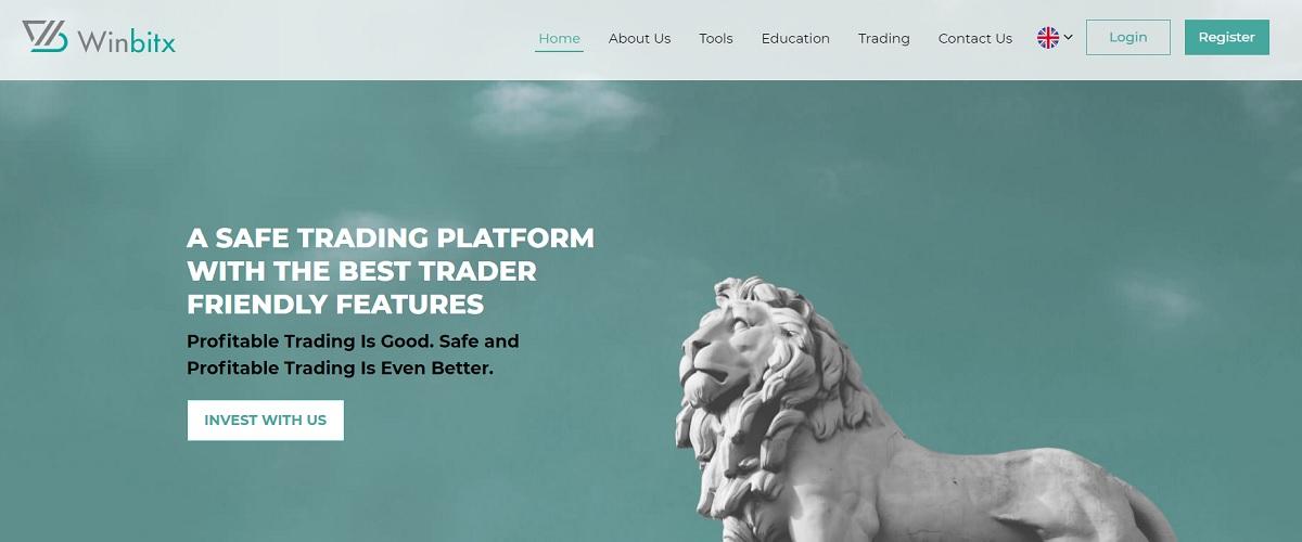 Winbitx homepage